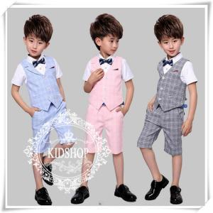 入学式 卒園式 男の子スーツ子供...