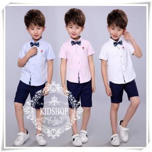 男の子女の子シャツ半袖入学式卒園式子供服 お受験フォーマル発表会結婚式シャツのみ付属品なし