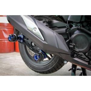 【バイクカスタムパーツ】ホンダ フォルツァ MF13 Revolution マフラースライダー 5色...