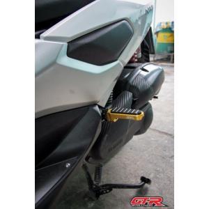 【バイクカスタムパーツ】【送料無料】ヤマハ NMAX125 NMAX155 GTR タンデムステップ...
