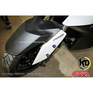 【バイクカスタムパーツ】【送料無料】ヤマハ XMAX GTR フェンダー スライダー フロントフォー...