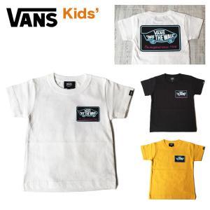 バンズ Tシャツ キッズ VANS ヴァンズ NEON TUBE OTW BOYS S/S Tee ネオン チューブ ショートスリーブ 半袖 100 110 120 130 140 150 子供 ボーイズ ガールズ masanagoya