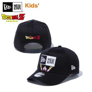 ニューエラ キャップ キッズ 帽子 NEW ERA Youth 9FORTY A-Frame DRAGON BALL Z ドラゴンボール 魔人ブウ 無邪気 善 ボックスロゴ ブラック #ドラゴンボールZ|masanagoya