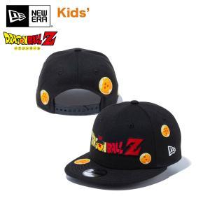 ニューエラ キャップ キッズ 帽子 Child 9FIFTY DRAGON BALL Z ドラゴンボール タイトルロゴ ブラック #ドラゴンボールZ CAP 子供 園児 幼児 チャイルド ベビー|masanagoya