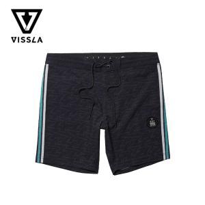 ヴィスラ ボードショーツ メンズ VISSLA Backwards Fin Beach Grit 1...