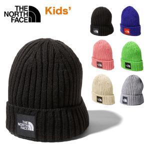 ノースフェイス ニット帽 キッズ THE NORTH FACE Kids Cappucho Lid カプッチョリッド ニットキャップ ワッペンロゴ 子ども 男の子 女の子 カジュアル おしゃれ masanagoya