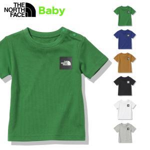 ノースフェイス ベビーTシャツ ベビーショートスリーブスモールスクエアロゴティー2021年 正規品 定番 THE NORTH FACE B S/S Small Square Logo Tee NTB32141 ベ masanagoya