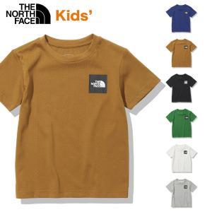 ノースフェイス キッズTシャツ ショートスリーブスモールスクエアロゴティー 2021年 正規品 定番 THE NORTH FACE S/S Small Square Logo Tee  NTJ32141 ユースサ masanagoya