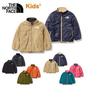 ノースフェイス キッズ アウター リバーシブルコージージャケット THE NORTH FACE Reversible Cozy Jacket フリースジャケット ナイロンジャケット 撥水 masanagoya