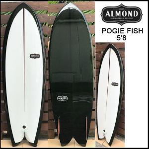 アーモンド サーフボード POGIE FISH 5'8