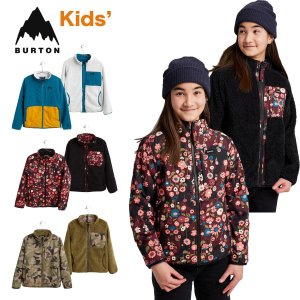 バートン フリースジャケット キッズ リバーシブル W22JP-205281 Kids' Burton Snooktwo Reversible Fleece Jacket スヌークトゥー フルジップ フリース masanagoya