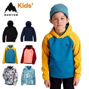 バートン パーカー 撥水 キッズ W22JP-221221 Kids' Burton Crown Weatherproof Pullover Fleece クラウン ウェザープルーフ プルオーバー フリース スウェット masanagoya