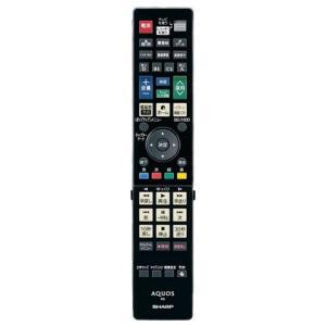 シャープ 0046380250 純正 ブルーレイディスクレコーダー用リモコン