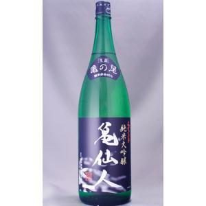 くどき上手 純米大吟醸 亀仙人 亀の尾 42% 1800ml|masaruya