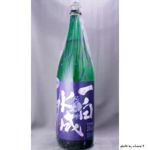 一白水成 純米吟醸 1800ml|masaruya