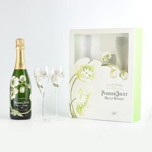 ペリエ ジュエ ベル エポック グラス2脚セット ギフト箱入り 12.5度 750ml お祝い 贈り物 正規品|masausami