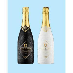 新発売シャンパン Guerdon White Black ガードン  シャンパン ホワイト ブラック 12度 750ml セット販売 おしゃれ プレゼント 祝い 正規品|masausami