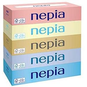 ネピア ティッシュ 300枚(150組)5箱×12パック ケース販売