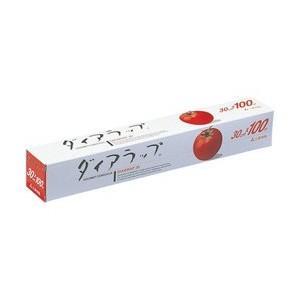 業界最安! (メーカー)三菱 (商品名)ダイアラップ (規格)30cm×100m (入数)30本