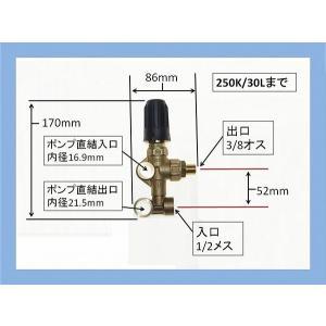 アンローダーバルブ 圧力調整弁 高圧洗浄機 VB55|masd