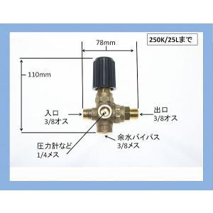 アンローダーバルブ 圧力調整弁 高圧洗浄機 VB3|masd