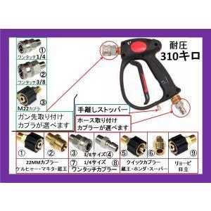 カプラー付高圧ガン 手放しストッパー付(業務用)|masd