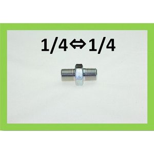 ニップル 1/4×1/4 高圧洗浄機用 継ぎ手|masd