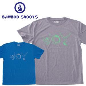 バンブーシュート メンズ Tシャツ BAMBOO SHOOTS BAMBOO Tee SOKKAN HITOMOJI|mash-webshop