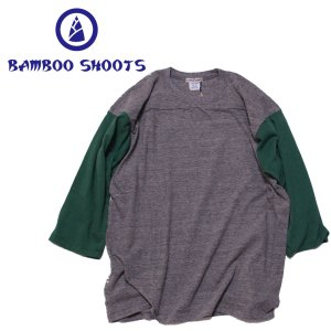 バンブーシュート メンズ Tシャツ BAMBOO SHOOTS Football Tee|mash-webshop