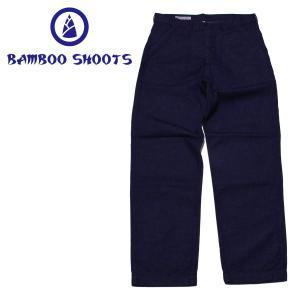 バンブーシュート BAMBOO SHOOTS NAVY UTILITY PANT|mash-webshop