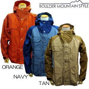 BOULDER MOUNTAIN STYLE ボルダーマウンテンスタイル マウンテンパーカ|mash-webshop