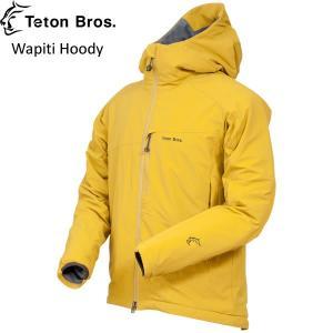 Teton Bros. ティートンブロス Wapiti Hoody ワピティフーディ ソフトシェル 防風 耐水 通気性|mash-webshop
