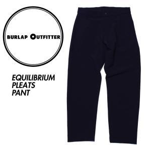バーラップアウトフィッター アンクルパンツ Burlap Outfitter EQUILIBRIUM PLEATS PANT|mash-webshop