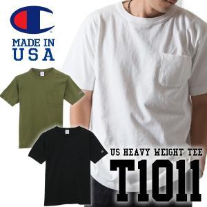 ChampionチャンピオンT1011 ポケット付き US TシャツポケットTee アメカジ|mash-webshop