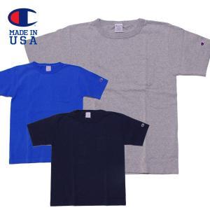 チャンピオン メンズ Tシャツ Champion T1011 ポケット付き US|mash-webshop