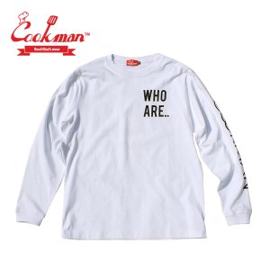 クックマン メンズ ロンT 長袖 TシャツCookman Long sleeve T-shirts YES|mash-webshop