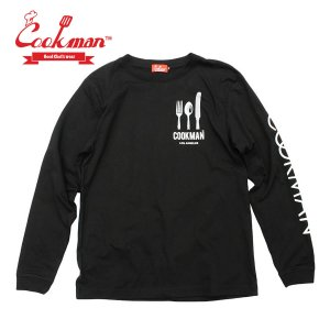 クックマン ロンT 長袖 Tシャツ Cookman Long sleeve T-shirts 「Flag」|mash-webshop
