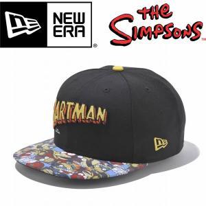 New Era ニューエラ 9FIFTY The Simpsons BARTMAN ブラック シンプソンズ コラボ スナップバック|mash-webshop