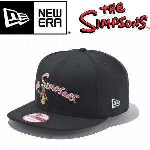 New Era ニューエラ 9FIFTY The Simpsons LOGO ブラック シンプソンズ コラボ スナップバック|mash-webshop