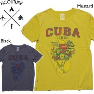 Ficouture フィクチュール Tシャツ クック mash-webshop