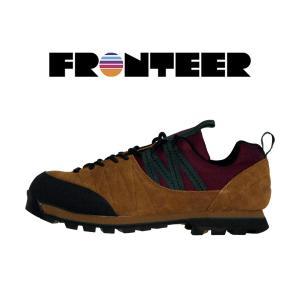 フロンティア トレッキングシューズ 登山 アウトドア スエード FRONTEER GEOTREKKER|mash-webshop