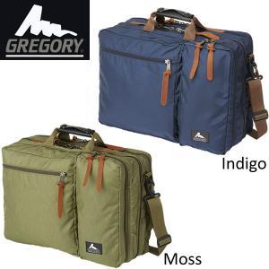 GREGORYグレゴリー カバートオーバーナイトミッション3wayビジネスバッグインディゴモス|mash-webshop