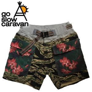 go slow caravan ゴースローキャラバン ショーツ|mash-webshop