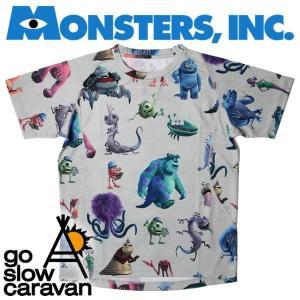 go slow caravan × Monsters incゴースローキャラバン × モンスターズインクMI2吸汗速乾昇華プリント 立体T(図鑑)|mash-webshop