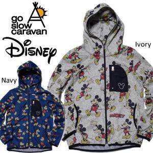 go slow caravan × Disney ゴースローキャラバン × ディズニー 杢ニット裏起毛ミッキーマウス|mash-webshop