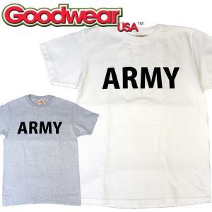 Goodwear グッドウェアARMY CREW NECK TEEヘビーウェイト クルーネック|mash-webshop