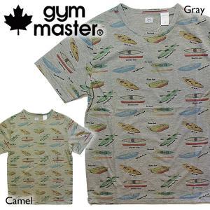 gym master ジムマスター Tシャツ カヌー柄|mash-webshop