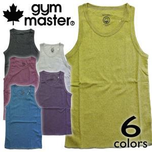 gym master ジムマスター オーガニックコットンフライスボーダータンクトップ ボーダー柄 6色!|mash-webshop
