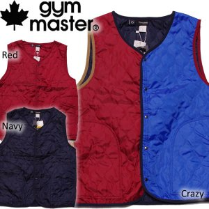 gymmaster ジムマスター ベスト  キルティング|mash-webshop