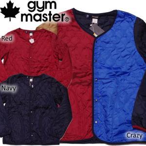 gymmaster ジムマスター Thinsulateインシュレーション キルティングカーディガン|mash-webshop